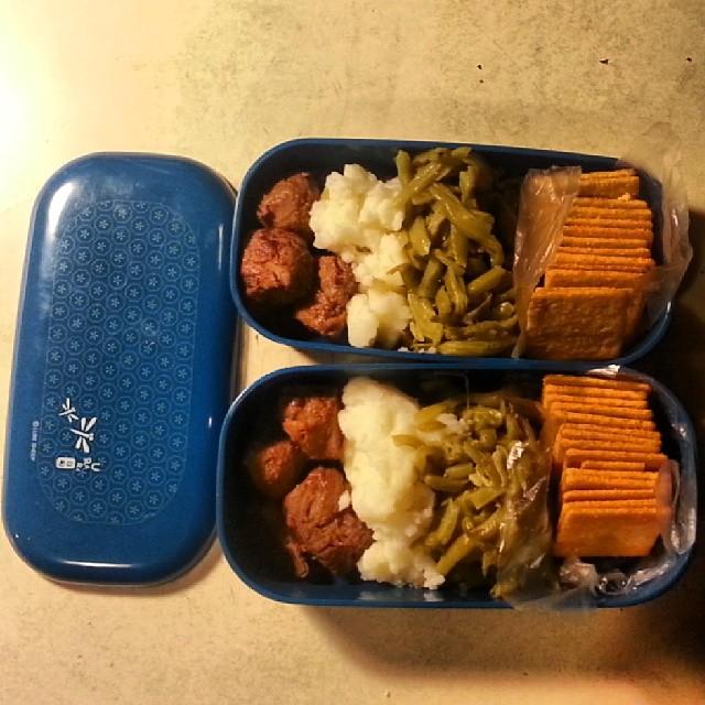 Bento Meals 1/21/2014